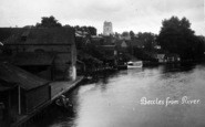 Beccles, From The River c.1931