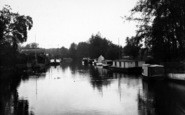 Beccles, House Boats c.1930