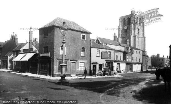 Beccles, Market Place 1894