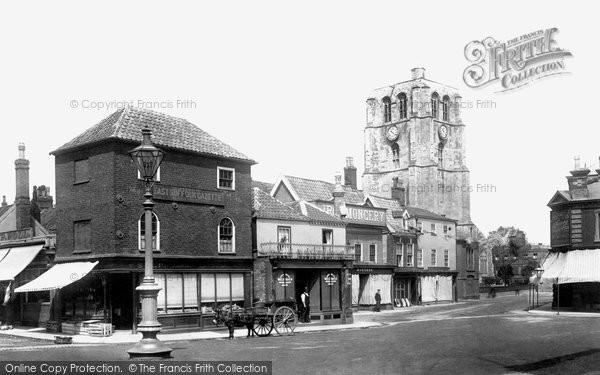 Beccles, Market Square 1900
