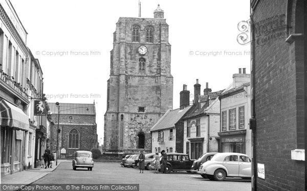 Beccles, New Market c.1960