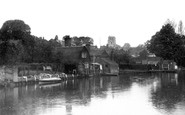 Beccles, River Waveney c1930