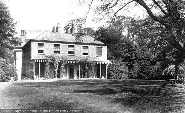 Beccles, St Mary's Grammar School 1894