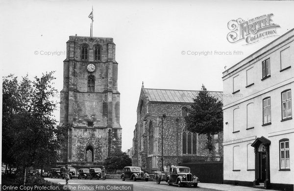 Beccles, St Michael's Church 1950