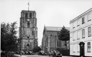 Beccles, St Michael's Church 1950