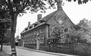 Beccles, the Old Building, Sir John Leman School c1955