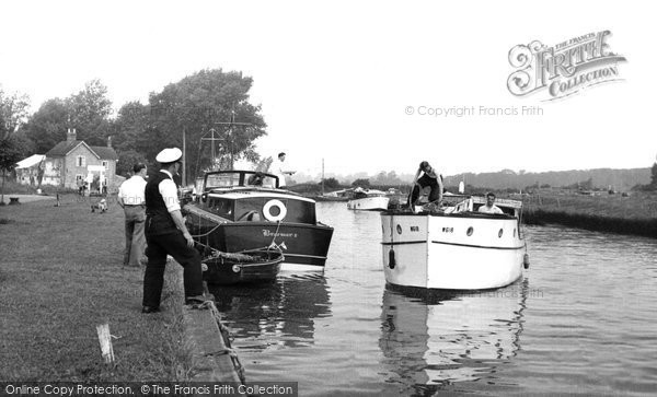 Beccles, The Quay c.1960