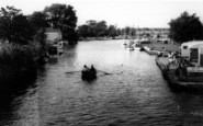 Beccles, The River c.1965