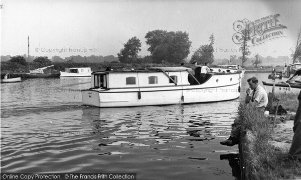 Beccles, The River Waveney c.1960