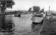 Beccles, The River Waveney c.1960