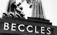 Beccles, The Town Sign c.1960