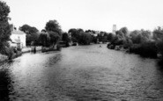 Beccles, View From The Bridge c.1965