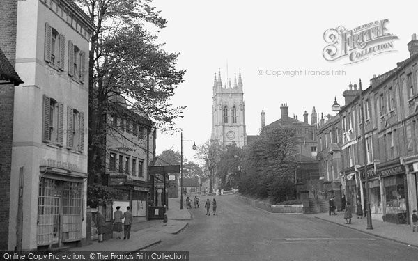 Beckenham, Church Hil And St George's Church 1948