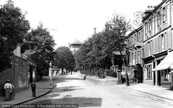 Beckenham, Church Hill 1899