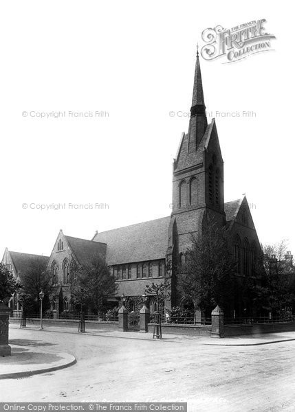 Beckenham, Elm Road Chapel 1899