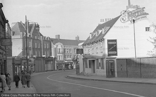 Beckenham, High Street And The George Inn 1948
