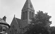 Beckenham, Holy Trinity Church, Lennard Road 1951