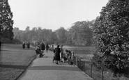 Beckenham, Kelsey Park, Lakeside Walk 1948