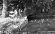 Beckenham, Kelsey Park, The Lake 1949