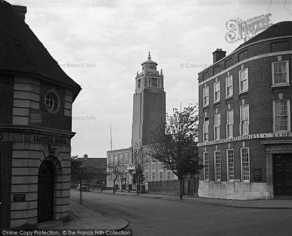 Beckenham, Municipal Buildings 1948