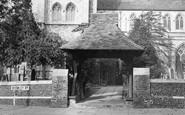 Beckenham, The 13th Century Lychgate c.1950