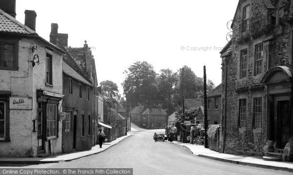 Beckington, Bath Road 1952