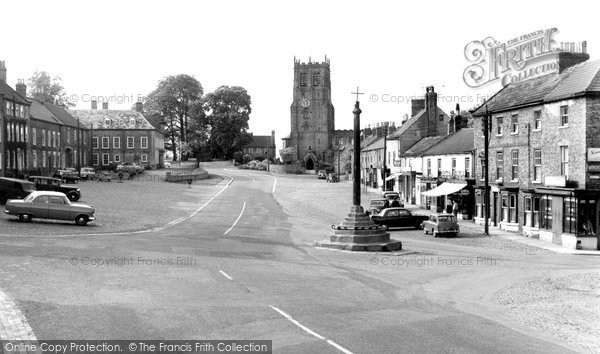 Bedale, North End c.1960