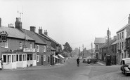 Bedale, South End c.1955
