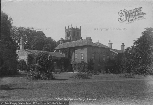 Bedale, The Rectory 1900