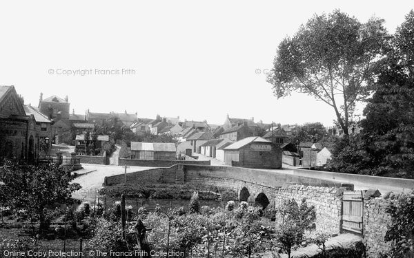 Bedale, The Village 1896