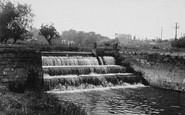 Bedale, The Weir c.1955