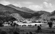 Beddgelert, General View c.1960