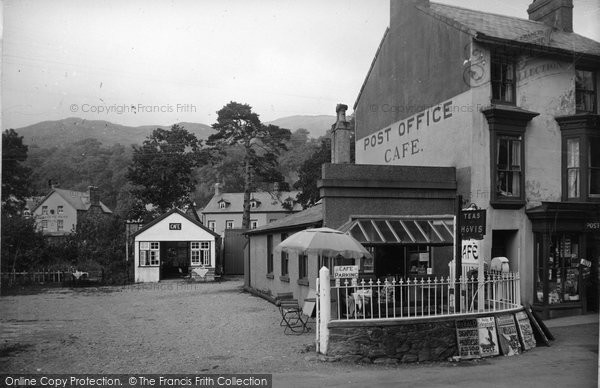 Beddgelert, Glandwr Cafe c.1950