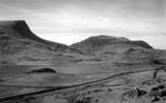 Beddgelert, Llyn-Y-Gader And The Caenarvon Road c.1947