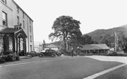 Beddgelert, Royal Goat Hotel And Boomerang Cafe c.1950