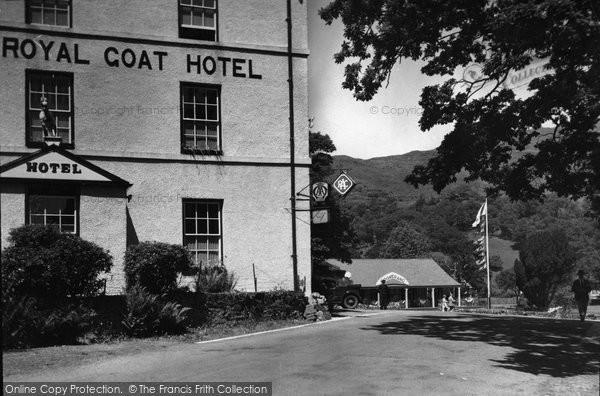 Beddgelert, Royal Goat Hotel c.1950