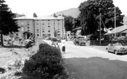 Beddgelert, Royal Goat Hotel c.1955