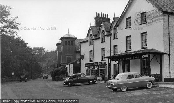 Beddgelert, Saracen's Head Hotel c.1960