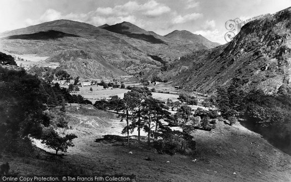 Beddgelert, Snowdon 1931