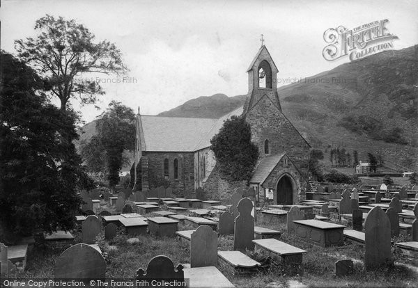 Beddgelert, St Mary's Church 1913