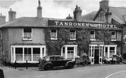 Beddgelert, Tanronen Hotel c.1955