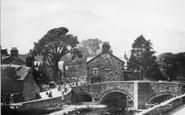 Beddgelert, The Bridge c.1935