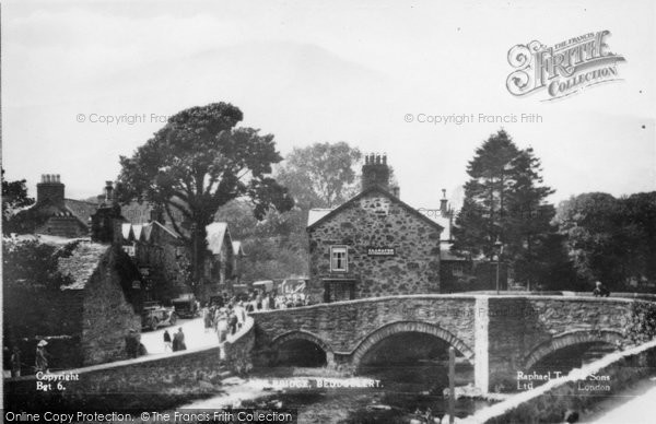 Beddgelert, The Bridge c.1938