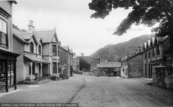 Beddgelert, The Village 1913