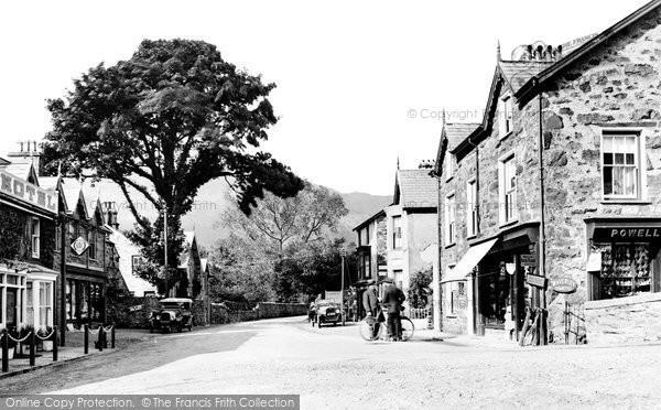 Beddgelert, The Village 1925