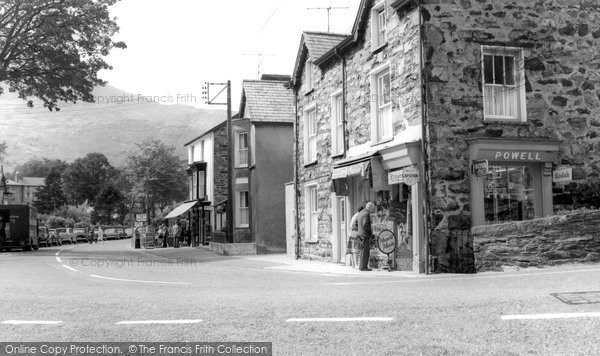 Beddgelert, The Village c.1955