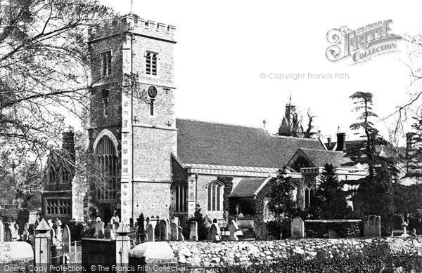 Beddington, Church Of St Mary The Virgin 1890