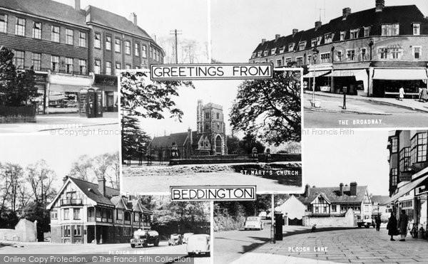Beddington, Composite c.1955