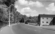 Beddington, Croydon Road c.1958