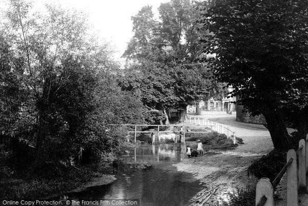 Beddington, On The Wandle 1894